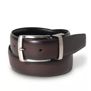 NWT Perry Ellis Leather Belt Size 42
